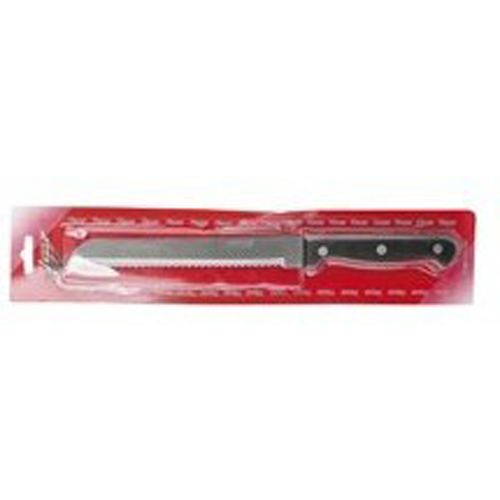 Μαχαίρι Ψωμιού Λαβή Βακελίτη Blister 18cm