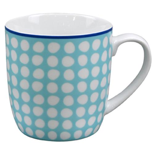 Κούπα Πορσελάνη 13oz Ν.316 -Γαλάζια με βούλες