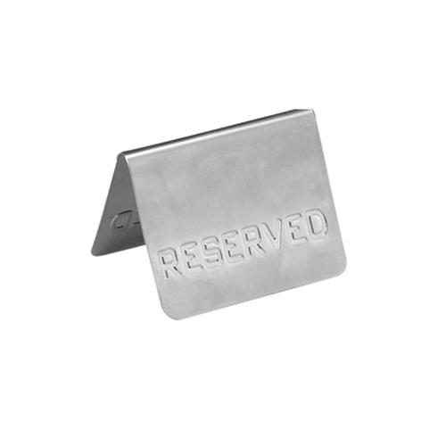 """Πινακίδα """"Reserved"""" (7,5x6cm)"""
