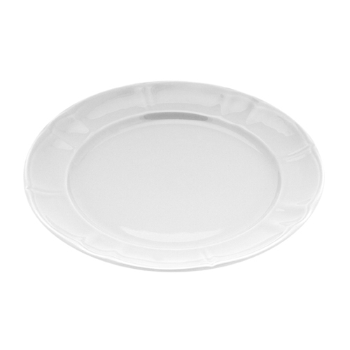 Πιάτο Κεραμικό Φρούτου 22cm-Λευκό