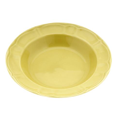 Πιάτο Κεραμικό Βαθύ 22cm-Κίτρινο
