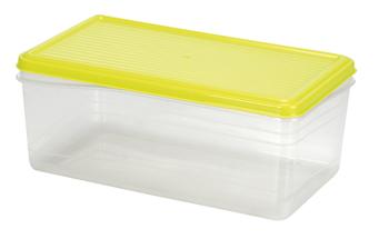 Τάπερ Ορθογώνιο Πλαστικό 3,5ltr (15x27x15cm)