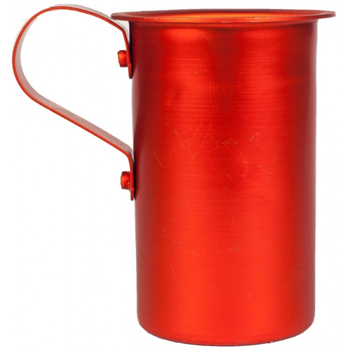 Οινόμετρο Αλουμινίου Κόκκινο 250ml