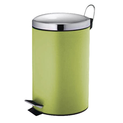 Κάδος Μεταλλικός Βαμμένος 7ltr - Πράσινο (21x34cm)