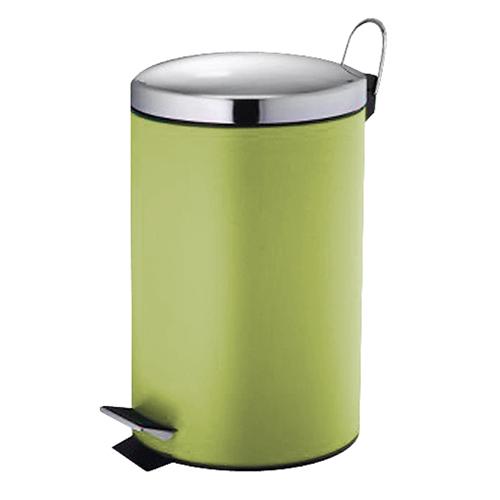 Κάδος Μεταλλικός Βαμμένος 20ltr - Πράσινο (30x47cm)