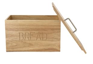 Ξύλινη Ψωμιέρα με καπάκι (35x20x24cm)