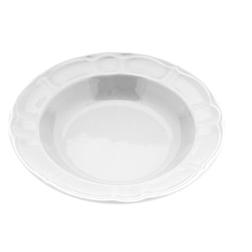 Πιάτο Κεραμικό Βαθύ 22cm-Λευκό
