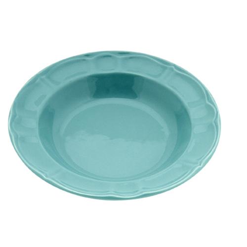 Πιάτο Κεραμικό Βαθύ 22cm-Μέντα